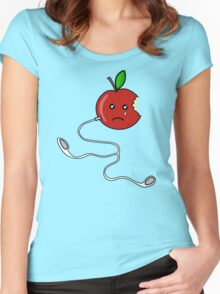 before iPod Women's Fitted Scoop T-Shirt
