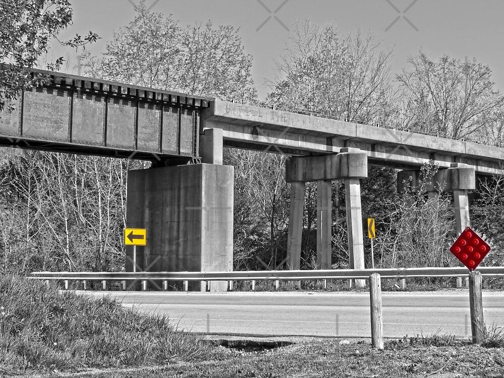 Railroad Overpass by Susan S. Kline
