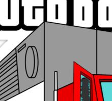Grand Theft Autobot Sticker