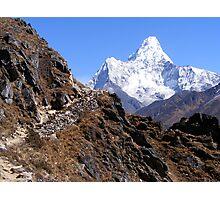 Nepal-Journey or Destination? Photographic Print