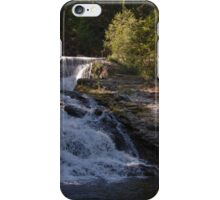 double water falls in washington iPhone Case/Skin