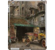 Car - Cour, Rue de Valencemm France - A Sunday afternoon - 1925 iPad Case/Skin