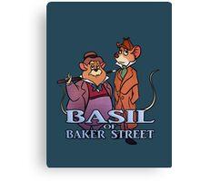 Basil of Baker Street Canvas Print