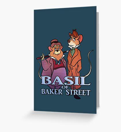 Basil of Baker Street Greeting Card