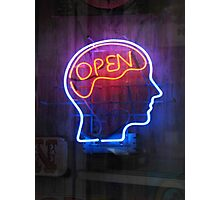 Open Minded Photographic Print