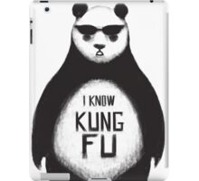 I know Kung Fu iPad Case/Skin