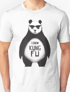 I know Kung Fu Unisex T-Shirt