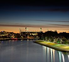 MCG At Dawn by Martin Rowe