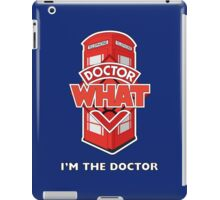Doctor What iPad Case/Skin