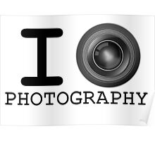 I Heart Photography Poster