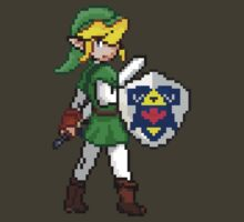 Legend of Zelda - Link Pokemon Trainer Pixel by geekmythology