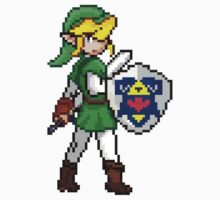 Legend of Zelda - Link Pokemon Trainer Pixel by geekmythology