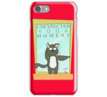Cats Caught In Unexpected Yoga Moments iPhone Case/Skin
