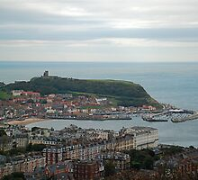 Scarborough from Olivers Mount by dougie1