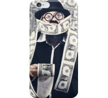 Filthy rich male business person. Finance success iPhone Case/Skin