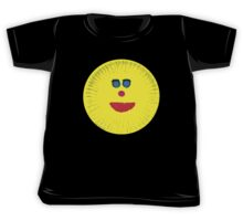 Paper Plate Painted Happy Face Kids Tee