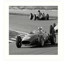 History of Ferrari Art Print