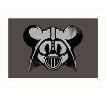 Vader Mouse Art Print