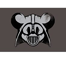 Vader Mouse Photographic Print