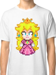 Princess Peach - Smash Bros Mini Pixel Classic T-Shirt