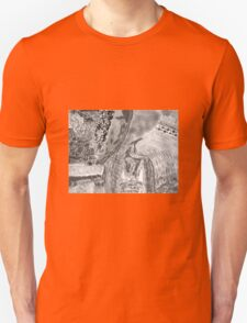 Kitty in the brush Unisex T-Shirt