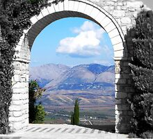 Archway to Albania by Karen Martin