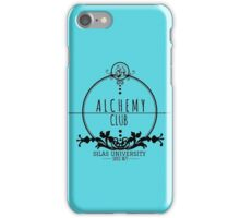 Silas University Alchemy club-coloured iPhone Case/Skin