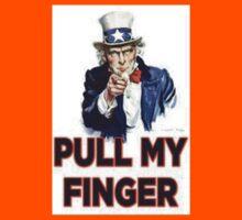 Uncle Sam - Pull My Finger Kids Tee