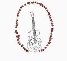 Dobro Icon with Red Roses Unisex T-Shirt