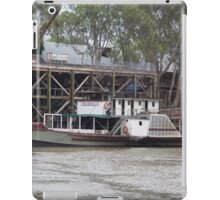 Historic inland port of Echuca, Australia iPad Case/Skin