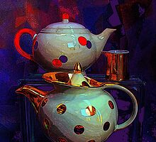 A Little Creamer With Your Teapots? by Michael May