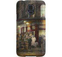 City - NY - Washington Street Market, buying at night - 1952 Samsung Galaxy Case/Skin