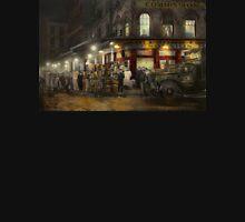 City - NY - Washington Street Market, buying at night - 1952 Unisex T-Shirt