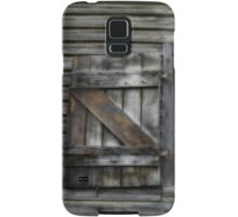 Window of 19th Century Wool and Apple Packing Shed Samsung Galaxy Case/Skin