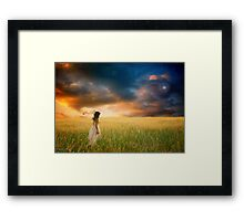 To The End Of The Earth... Framed Print