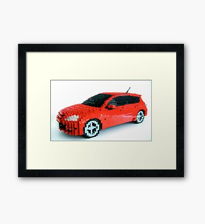Mazdaspeed3 Framed Print
