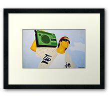 Keep It 500 Framed Print