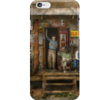 Gas Station - Sunday afternoon - 1939 iPhone Case/Skin