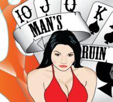 Man's Ruin Sticker