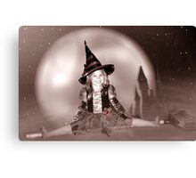 Witch's Night Out 2 Canvas Print