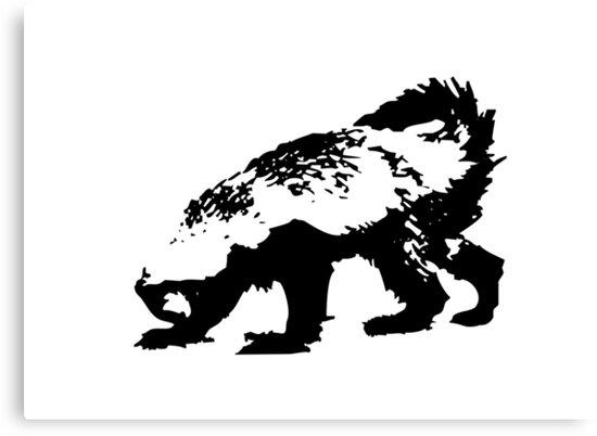 Honey Badger (black) by jezkemp