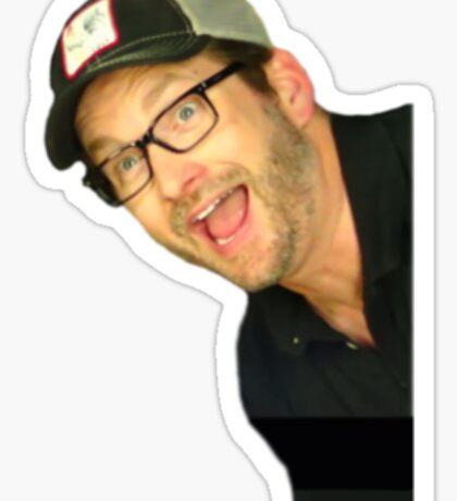 Peeping Burnie Sticker
