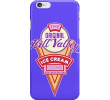 Hill Valley Ice Cream Clone iPhone Case/Skin