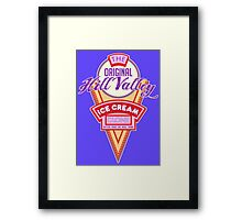 Hill Valley Ice Cream Clone Framed Print