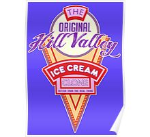 Hill Valley Ice Cream Clone Poster