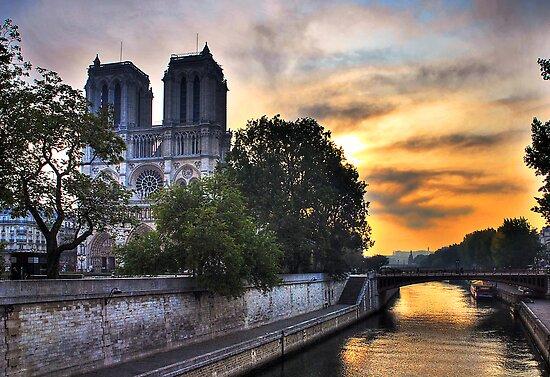 Notre Dame by Xandru
