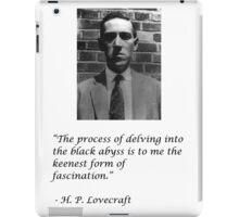 Howard Philips Lovecraft iPad Case/Skin