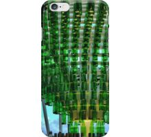 One Thousand Green Bottles Hanging from the Roof. iPhone Case/Skin