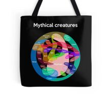 Epic Mythical Creatures Chart Tote Bag