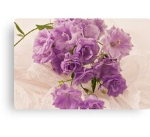 Lavender And Lace  Canvas Print